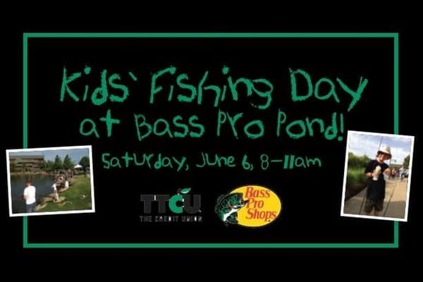 Kids Fishing Day At Bass Pro Ba Buzz Broken Arrow Events