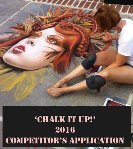 Chalk it Up! Sept 9-10th