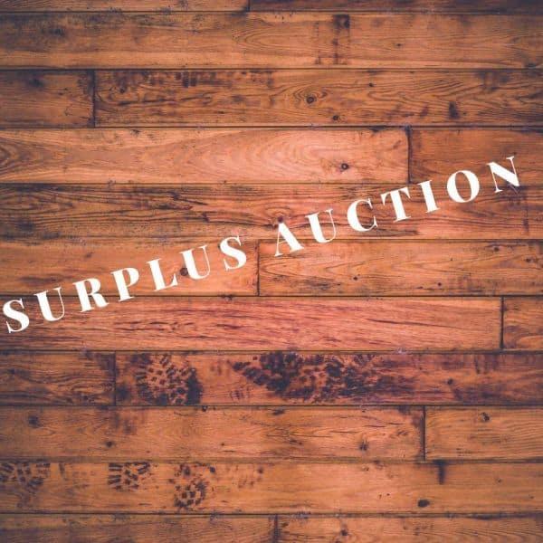 Surplus Auction June 2nd-June 12th