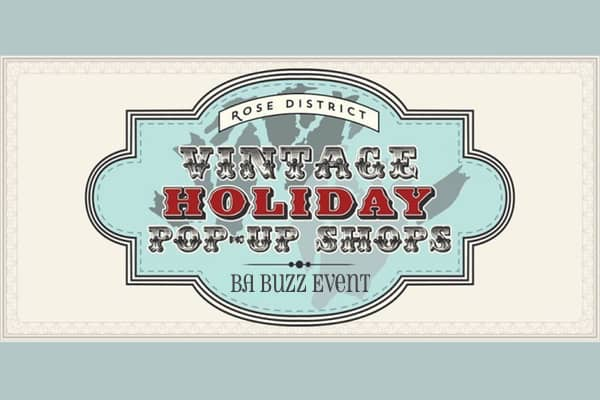 BA Buzz Holiday Pop Up Shops