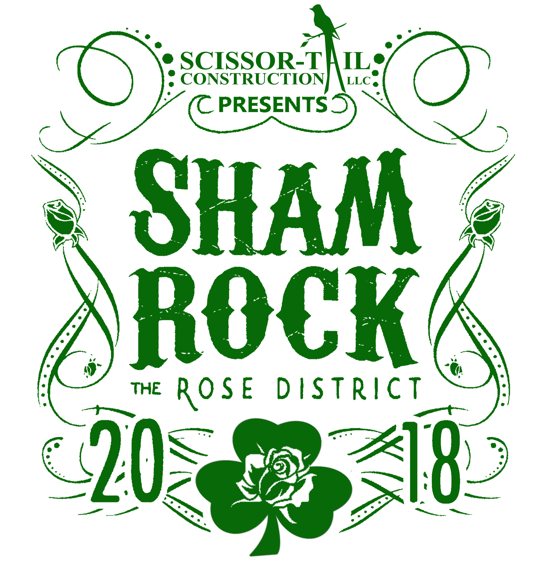 ShamROCK the Rose March 10th, 2018
