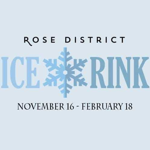 Rose District Ice Rink extended to Feb 18th