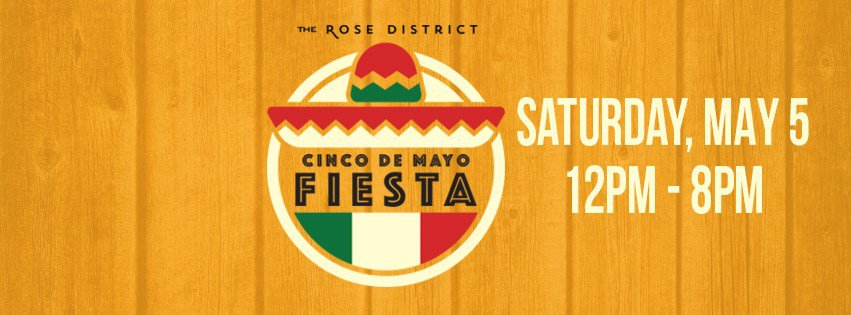 Celebrate Cinco de Mayo in the Rose District