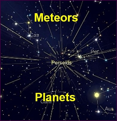 Meteor Shower And Planet Watch Night Aug 11th