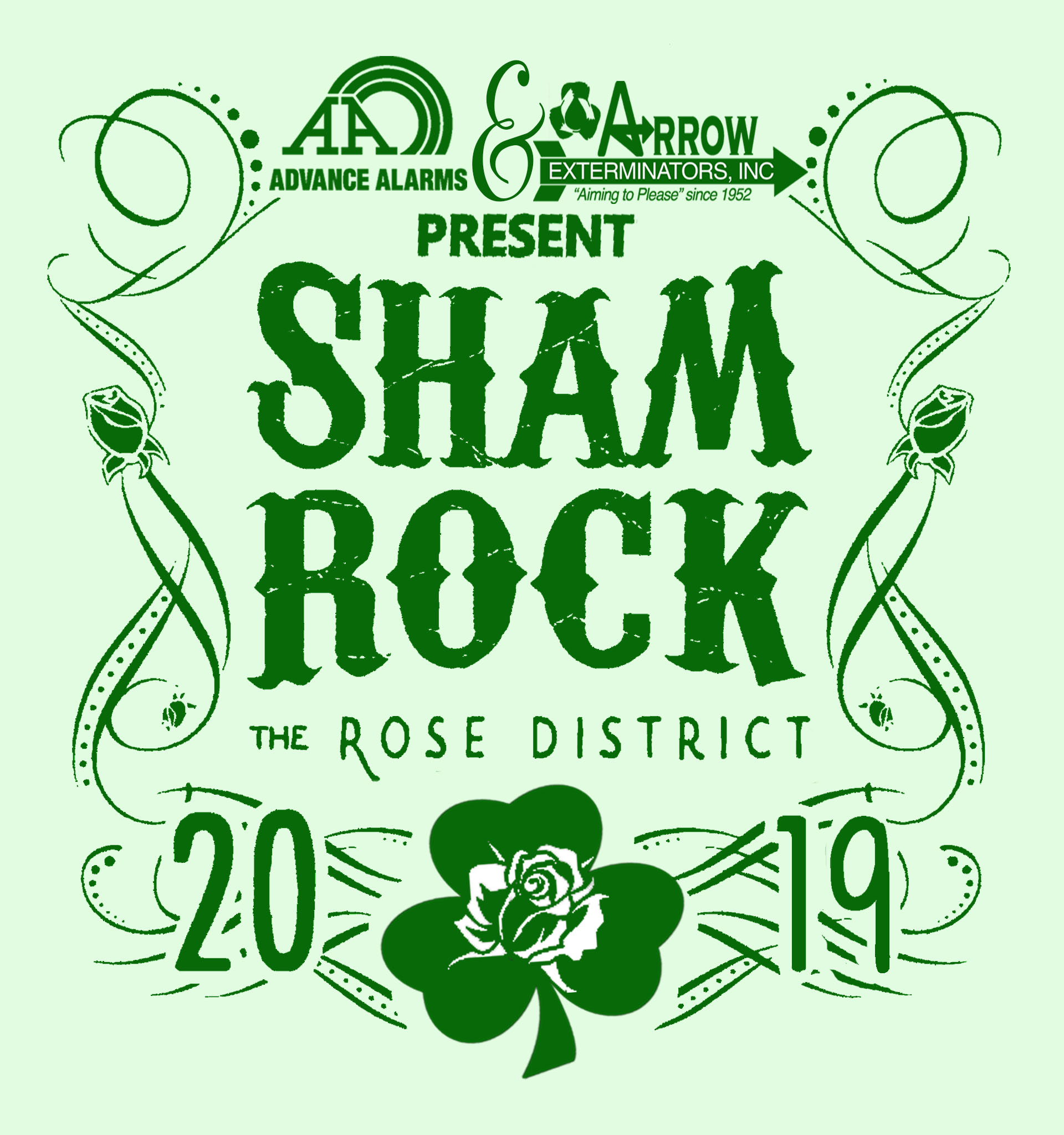 ShamROCK the Rose 2019 March 16th