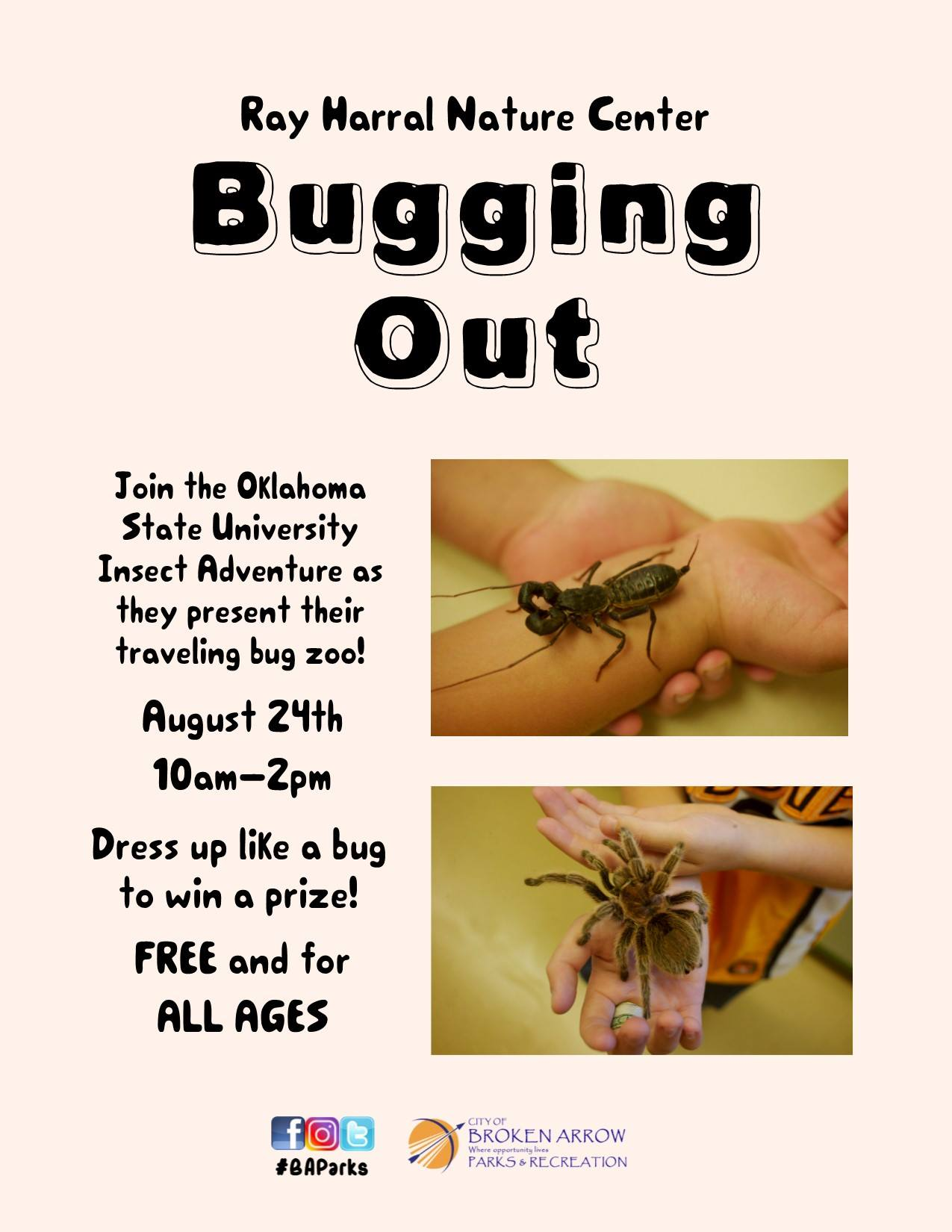BUGGING OUT Aug 24th